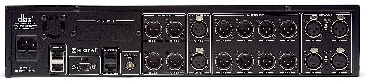 DriveRack 4800 | dbx Professional Audio