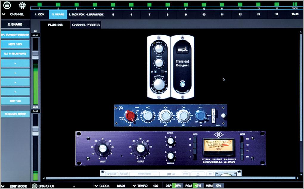 Realtime Rack | Soundcraft - Professional Audio Mixers