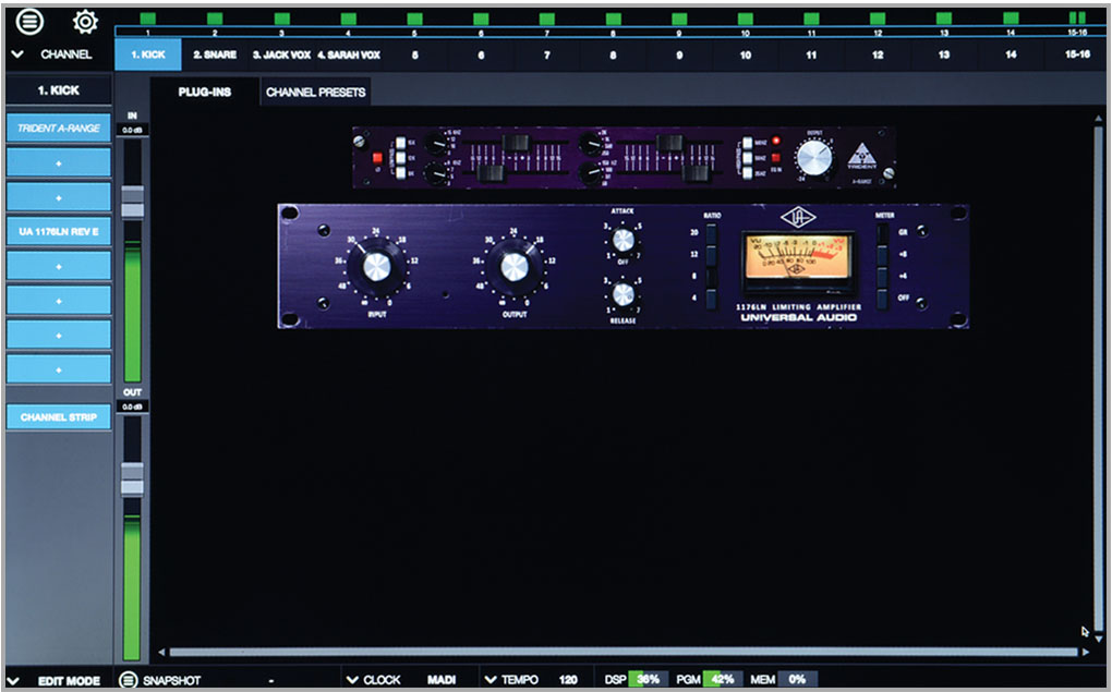 Realtime Rack | Soundcraft - Professional Audio Mixers