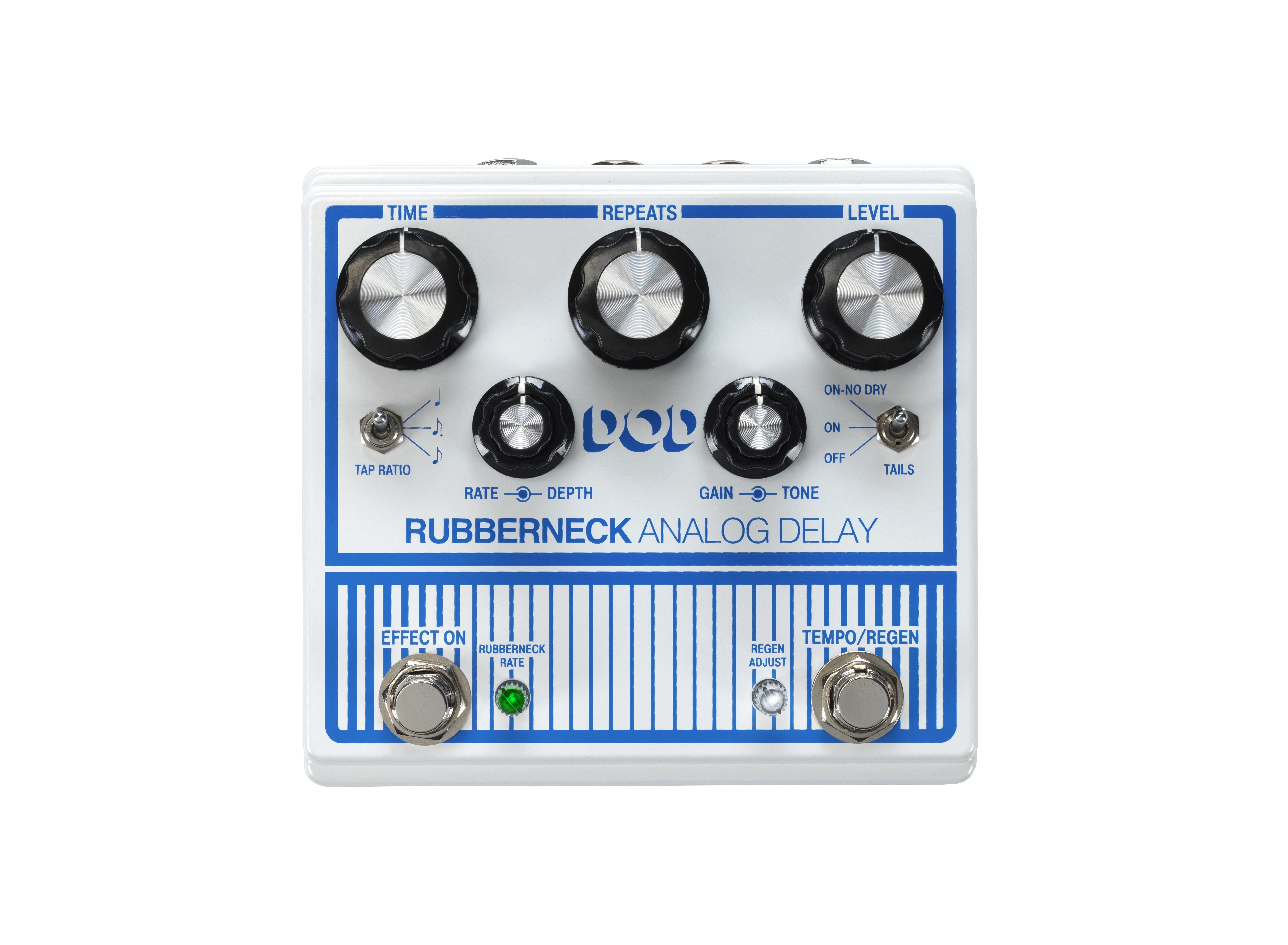 Dod Rubberneck Digitech Guitar Effects Turn On Delay Circuit That Resets Nice And Quick Youtube Analog