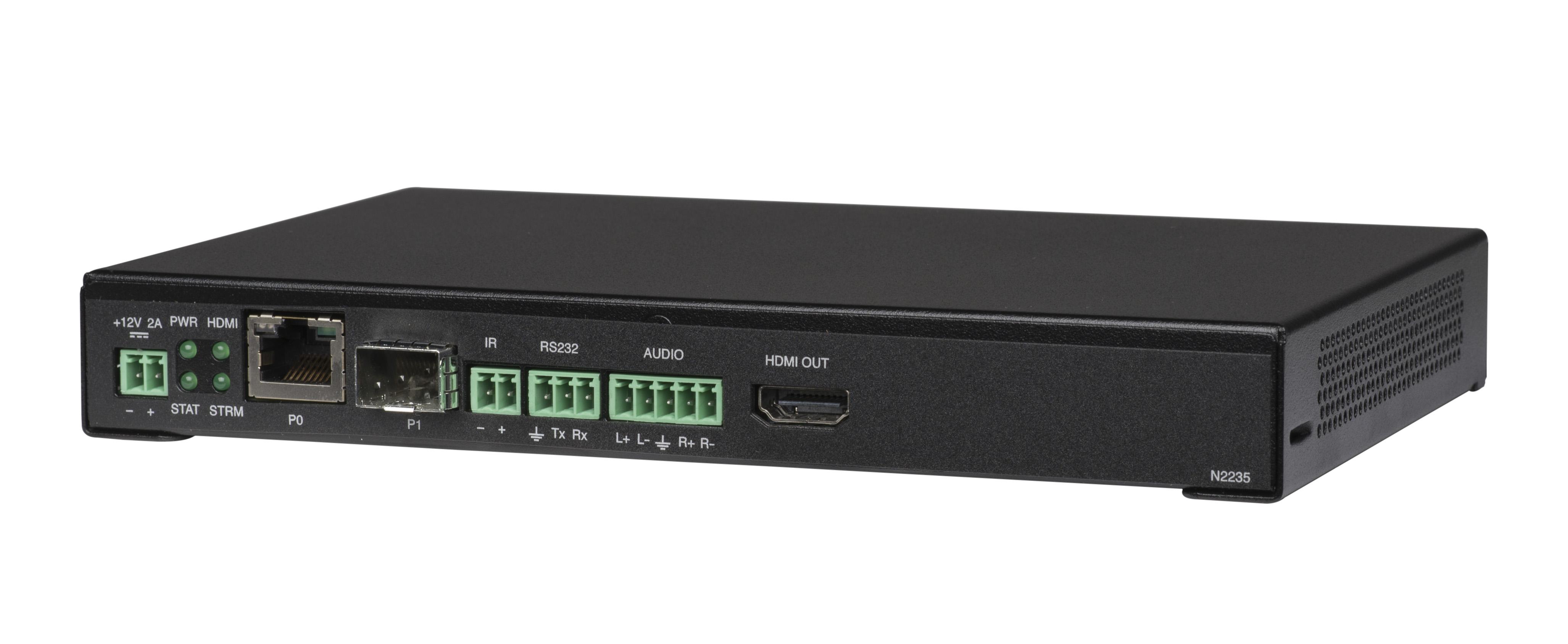 NMX-DEC-N2235A Decoder | AMX Audio Video Control Systems