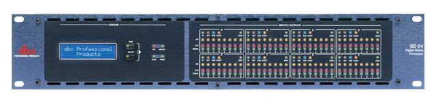 dbx SC 64 és SC 32 digitális mátrixok