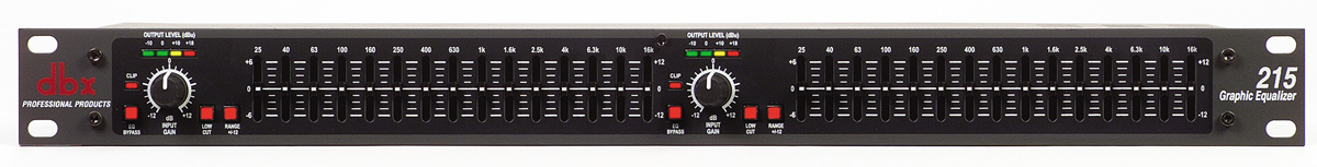 dbx 215 graphic equalizer manual