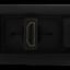 Hpx av102 hdmi r collar closeup tiny square