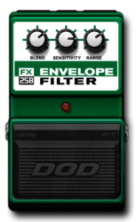 Dod envelope filter off epedal