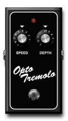 Opto tremolo off epedal