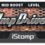 Ampdriver label tiny square