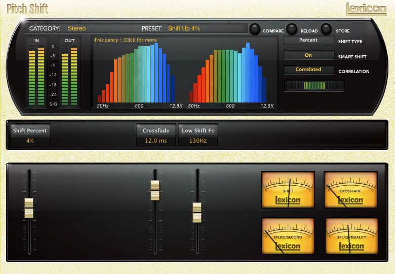 PCM Native Pitch Shift | Lexicon Pro - Legendary Reverb and