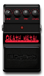 Death metal off epedal