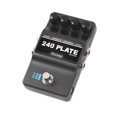 240 Plate Reverb with iStomp label