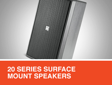 Control Contractor 20 Series Surface-Mount Speakers