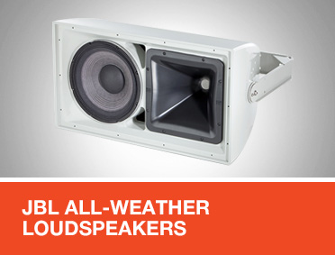 JBL All-Weather Loudspeakers for EN 54 Applications