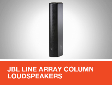 JBL Line Array Column Loudspeakers for EN 54 Applications