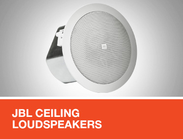 JBL Ceiling Loudspeakers for EN 54 Applications