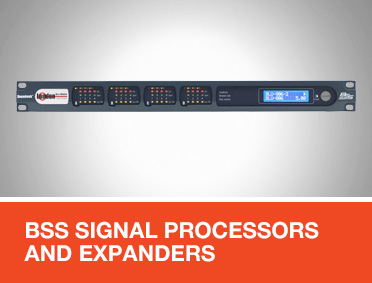 BSS Signal Processors and Expanders for EN 54 Applications
