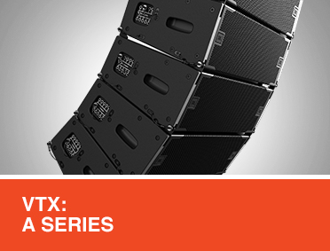 VTX-A Series Performance/Tour Line Array