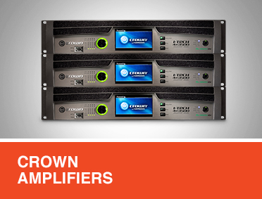 Crown Amplifiers & Racks