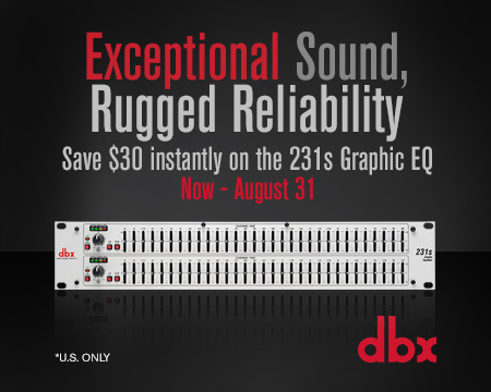 231s 31-band EQ Instant Rebate - July 2018 (U.S. Only)
