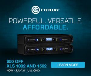 Crown XLS DriveCore 2 Deals (US only)