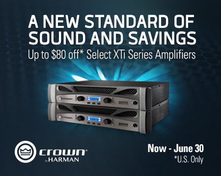Select Crown XTi 2 Series Instant Rebate Promotion: April-June 2017 (US Only)