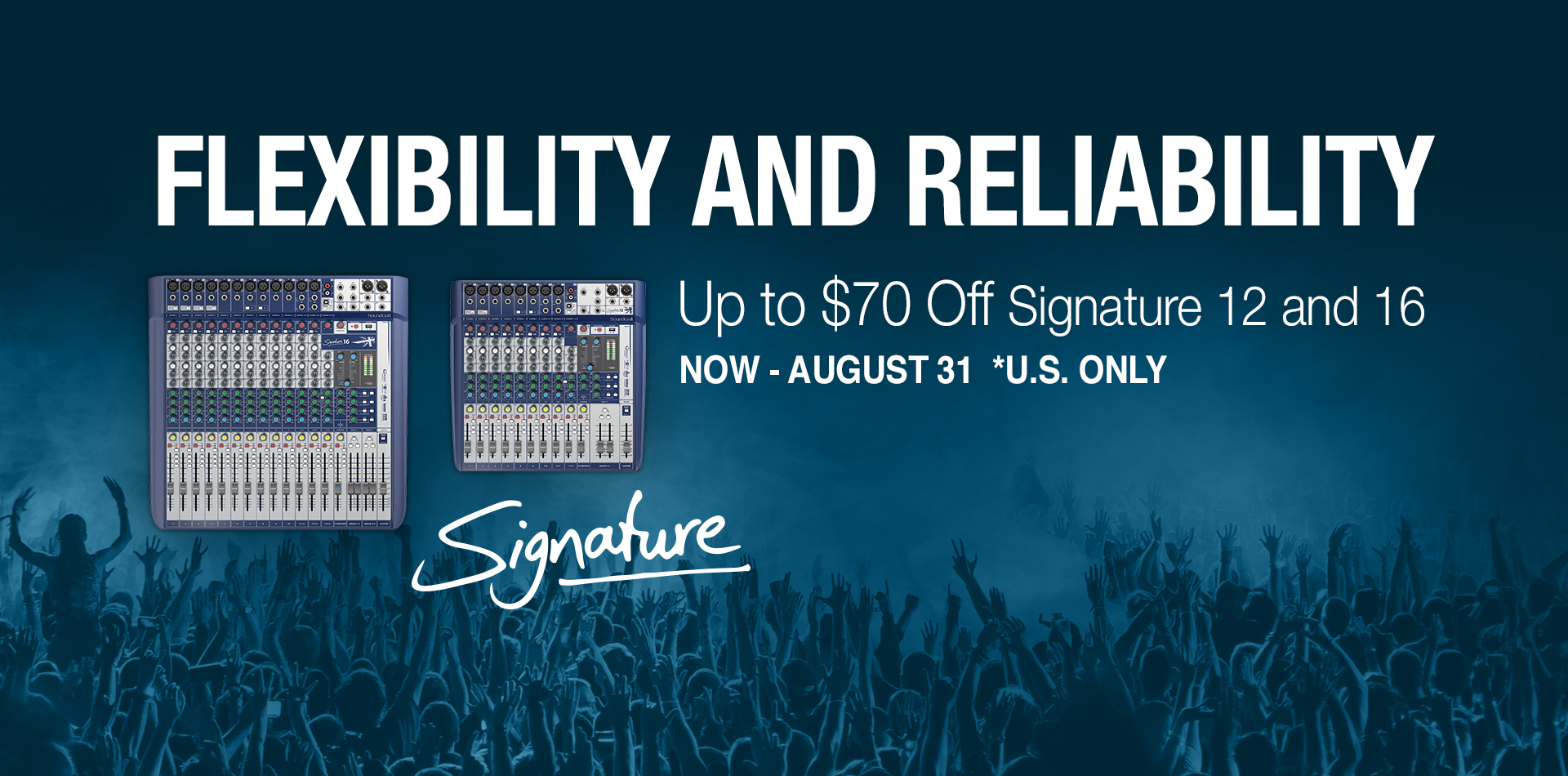Summer Savings on Soundcraft Signature 12