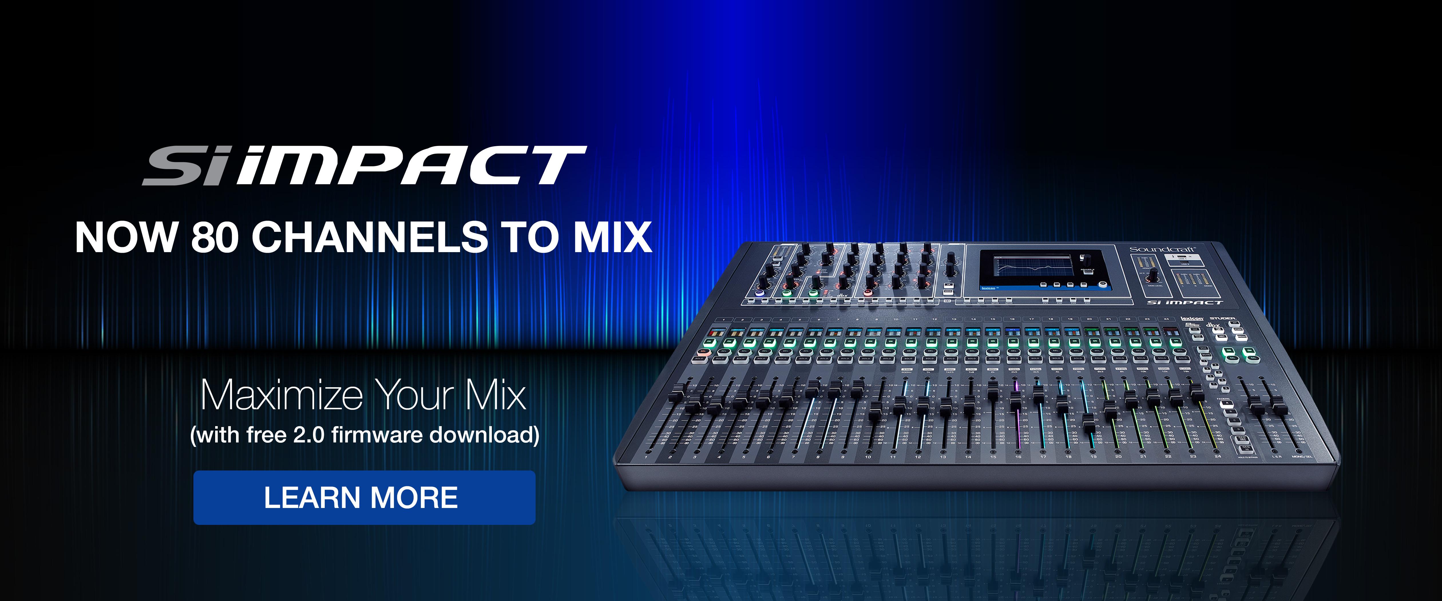 Soundcraft siimpact firmwareupdate homepagebanner 5040x2100 original