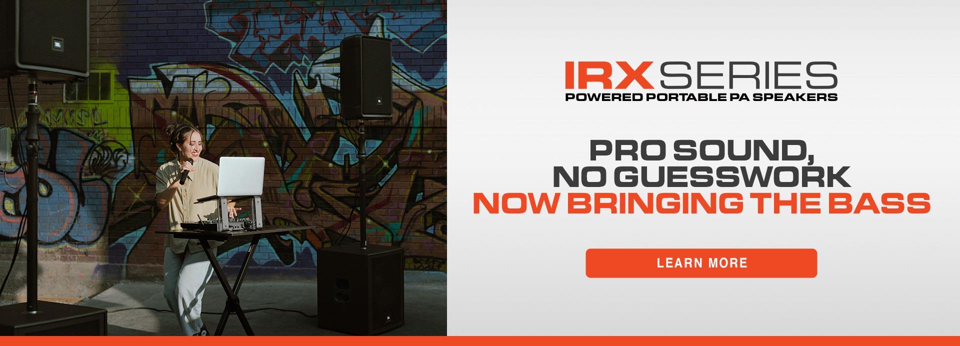 IRX launch - homepage
