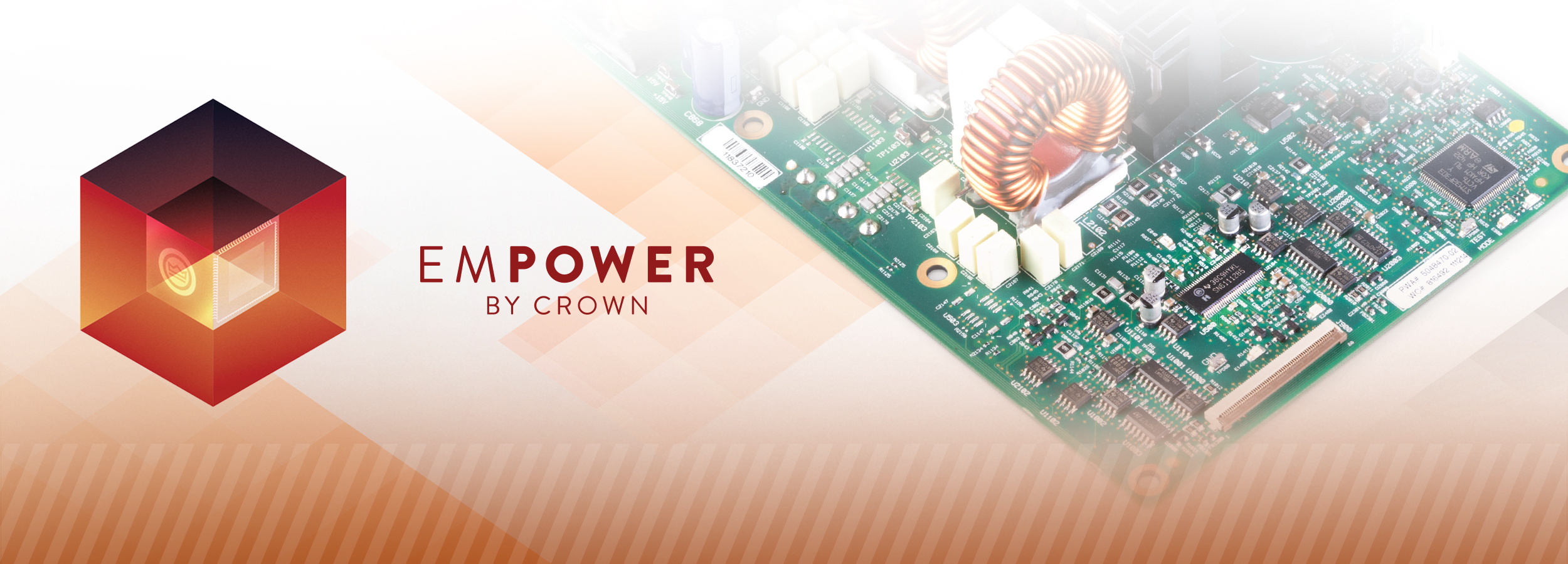 Crown Audio Professional Power Amplifiers Circuit Board Industrial Repair Group Irg Electronic I Tech 4x3500hd