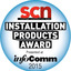 System contractor news product install awards 2015 tiny square