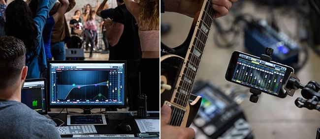 Controlla Soundcraft Ui24R dal dispositivo che preferisci